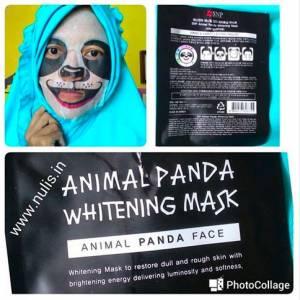 SNP Animal Mask : Lengket Ternyata!