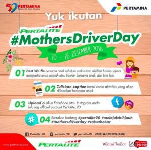 Pertalite Mothers Driver Day Berhadiah Voucher Pertalite