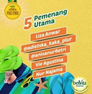 255 Pemenang Belvita Sarapan Pagimu