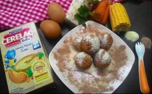 Nugget Tempe Milk Balls : Cemilan SiBatita