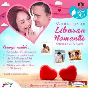 Warnai Kembali Cintamu dengan NYU Berhadiah Liburan Romantis