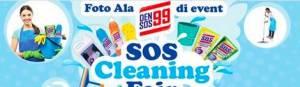 Sos Cleaning Fair Berhadiah Voucher Belanja