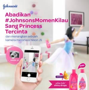 Johnsons Momen Kilau Berhadiah Kamera Mirrorless