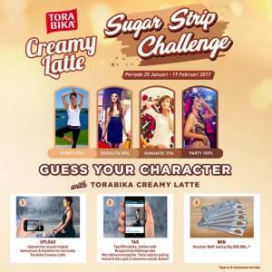 Sugar Strip Challenge Torabika Berhadiah Voucher MAP