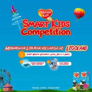 Vidoran Smart Kids Competition Berhadiah Trip Ke Legoland Malaysia