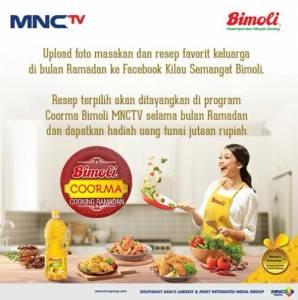 Bimoli Cooking Ramadhan Berhadiah Cash Money Total Jutaan Rupiah