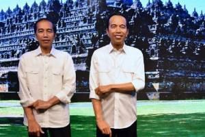 Patung Lilin Madamme Tussauds Jokowi : 99% Mirip
