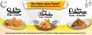 Dapur Ramadhan Sunco Berhadiah Total Jutaan Rupiah