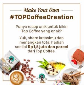 Top Coffee Creation Berhadiah Voucher Belanja