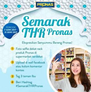 Selfie Bareng Pronas Berhadiah THR @1 Juta Rupiah