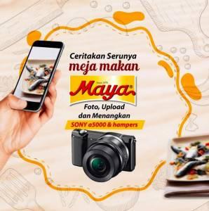 Ceritakan Serunya Meja Makan Maya Berhadiah Kamera Sony A 5000