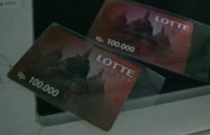 Voucher Lotte 200K Hadiah Juara 3 Video Komodo Food Dua Belibis