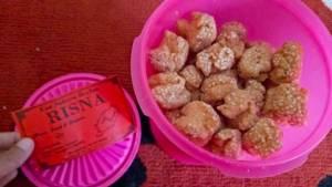 Kue Sakura Brebes Risna : Renyah & Manisnya Ga Berlebihan
