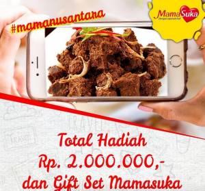 Mama Nusantara Berhadiah Uang Belanja + Gift Set Mama Suka
