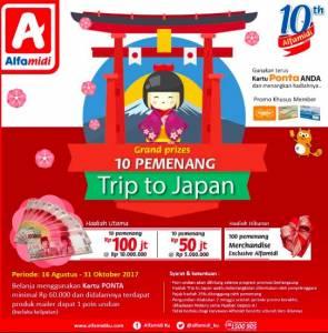 Undian Alfamidi Berhadiah Trip Ke Jepang