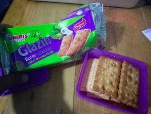 Unibis Glazin Butter Coconut : Biskuit Mentega Kelapa Dengan Packing Biasa
