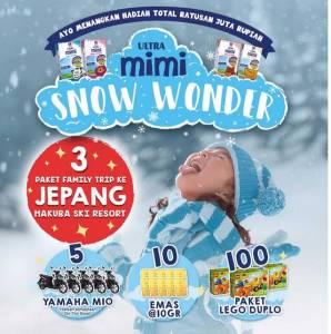 Ultra Mimi Snow Wonder Berhadiah Trip Ke Jepang