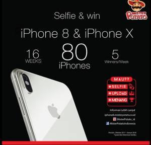 Kontes Foto Mr Potato Berhadiah 80 Iphone
