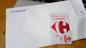 Voucher Carrefour 200K Hadiah Sharing Investasi Dana Reksa