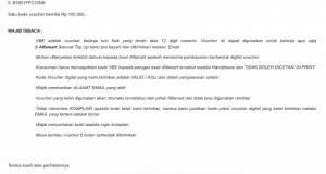 VBE Alfamart 500k Hadiah Tantangan Sambal ABC