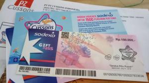 Voucher Sodexo 100K Hadiah 1500 Pengirim Pertama CBK6