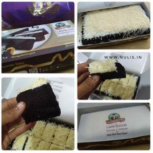 Lapis Bogor Sangkuriang, Lembut & Manisnya Brownies