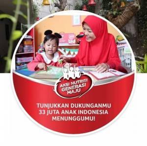 Yuk Ikutan Aksi Nutrisi Generasi Maju Dengan Upload Foto di Profile Fb Mu