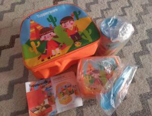 Junior Bento Set Hadiah Bentolicious Tupperware