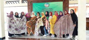 Bimtek Pembuatan Ecoprint Di Wilayah Purwokerto Selatan