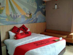 Begini Suasana Family Room DI Meotel Purwokerto, Vintage n Retro Design!