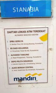 Ini Dia Daftar Lokasi ATM Mandiri Terdekat Alfamidi Wachid Hasyim Purwokerto