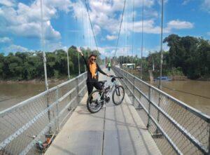 12 KM Menuju Jembatan Gantung Boksum, Mempesona Viewnya!!